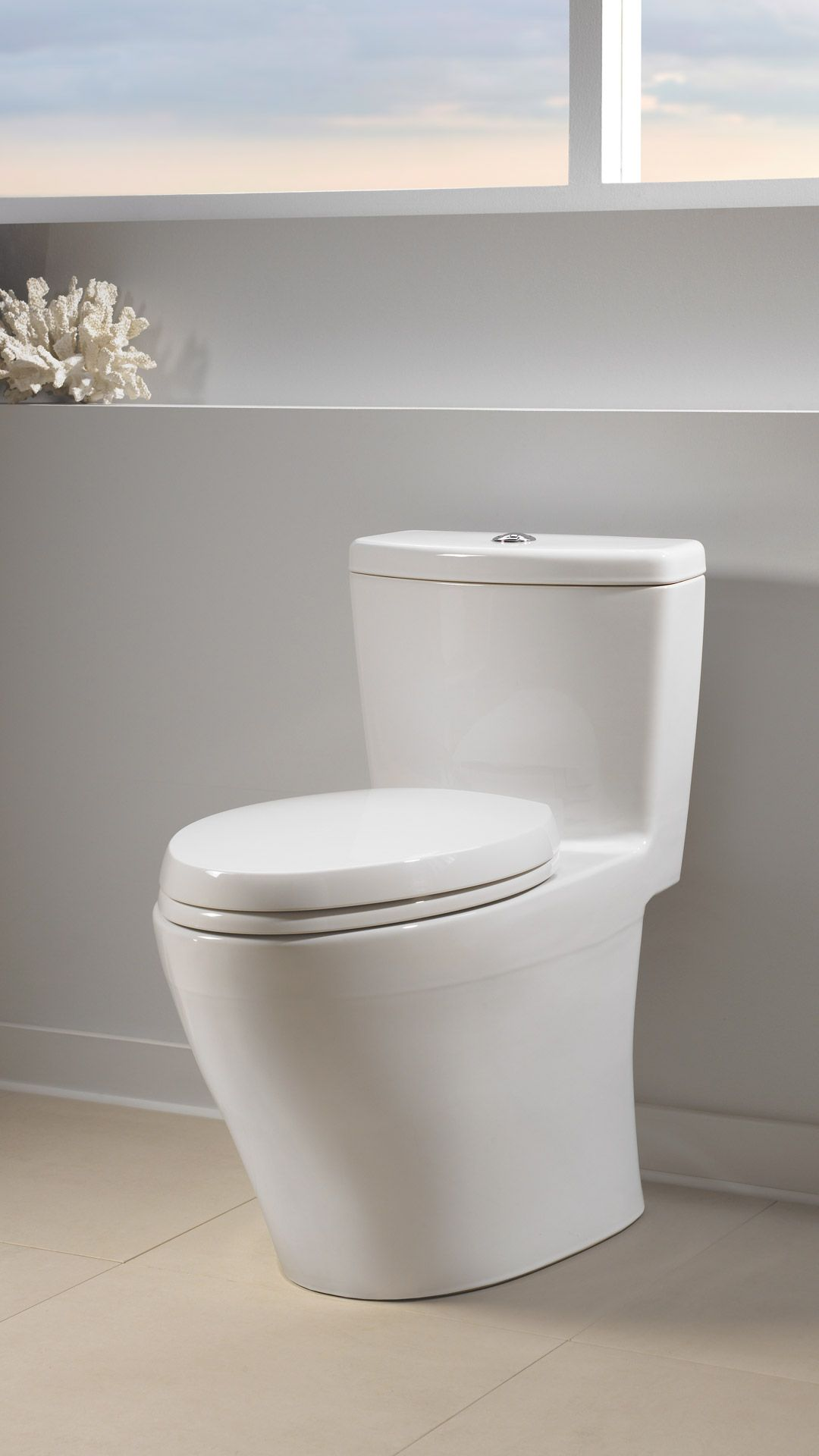 ToTo Aquia® One-Piece Toilet, 1.6 GPF & 0.9 GPF, Elongated Bowl ...