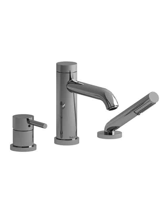Cs10 3 Piece Deck Mount Tub Filler With Hand Shower